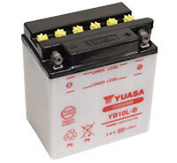 Yuasa YB10L-B Motorcycle Battery 12Volts, with acid pack