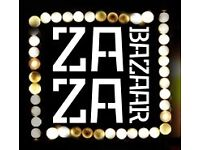 ZaZa Bazaar need Bar and waiting staff