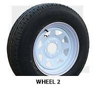 "15"" New sunraysia ford rim with second hand tyre Loganholme Logan Area Preview"