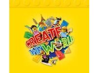 Sainsbury's Lego create the world cards for swapping