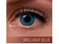 Freshlook Colorblends Natural Looking in Brilliant Blue Color