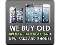 Wanted,broken iPhones & iPads all models considered