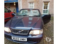 for sale volvo c70 convertible excellent condition like new inside