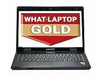 advent dual core laptop running windows 10 pro £65 minehead