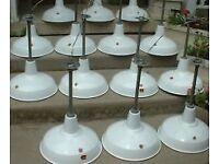 *Wanted* industrial enamel lights lamps pendants signs