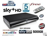 Sky tv box with remote control old style (not the q one) good working order