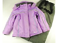 Girls SNOW SUIT (snowsuit) - coat and trousers, age 7-8 years