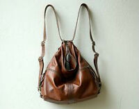 lost brown leather backpack purse and cell phone
