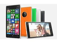 "NOKIA LUMIA 930 5"" 32GB sim free - mini 20MP WINDOWS PHONE - latest -8.1 SMARTPHONE SIM FREE"