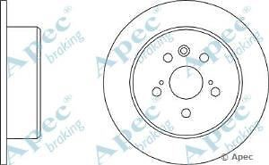 Apec Braking OE Quality Replacement Single Brake Disc Disk - DSK508