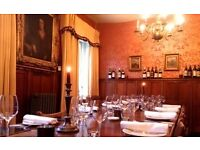 bar/restaurant position in Michelin star restaurant