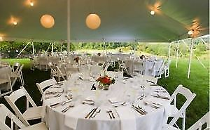 chairs, tables and event rentals