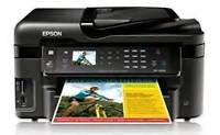 Epson WF7520 Wide Format Ink Jet Printer - Scan and Print 11x17