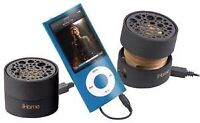 iHome IHM78 Rechargeable Mini Stereo Speakers
