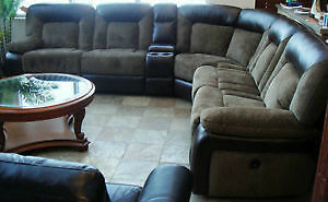 Store Wide Super Sale Brand New 6pc Power Recliners Sectional W/Console & USB Port