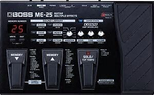 Boss ME-25 guitar multiple effects pedal