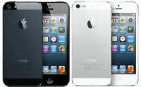 iphone5 16gb work with virgin mobile and bell color white $275