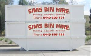 Sims Skip Hire Sunshine North Brimbank Area Preview