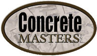 CONCRETE MASTERS - 100% GUARANTEED QUALITY + PRICING since 1990