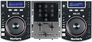 Complete DJ System , - 2 Numark CDJ's & 2 Mixers Great Condition