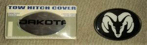 """Brand New Dodge Hitch Receiver Covers for 2"""" Hitch's"""