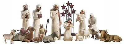 Demdaco Willow Tree 16 pc nativity set             NEW IN BOXES