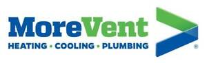 MoreVent Heating Cooling & Plumbing