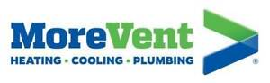 MoreVent Heating Cooling & Plumbing 226 504 4977