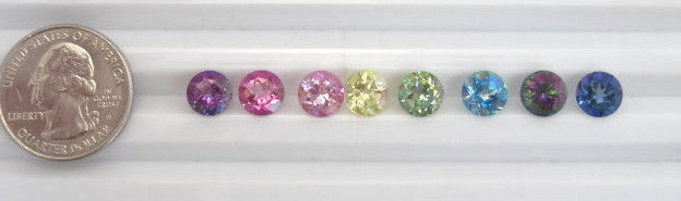 Loose 8mm Round Mystic Topaz ~10 Colors Available!