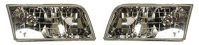98 - 11 Ford Crown Victoria Headlight Pair Set Both NEW Headlamp front -