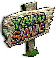 Victoria Day Yard Sale Monday May 18th
