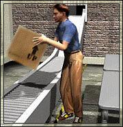 Warehouse parcel sorting in St Albans / Radlett