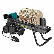 Yardworks 5 Ton Electric wood splitter. Duocut with pedal