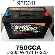 TRUCK BATTERY 750 CCA BRAND NEW Croydon Park Port Adelaide Area Preview