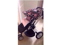 Hood Cover and Strap Cover for Quinny Buzz Pram