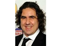 Micky Flanagan, Hydro Arena, Glasgow, Sun 28th May 2017. 2x Floor seats