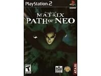 The Matrix Path of Neo For PS2 Video Game