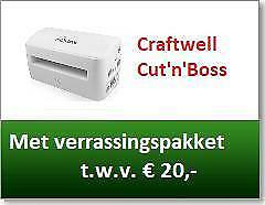 Craftwell Cut 'n Boss A4 Electrische Die- Cutting machine