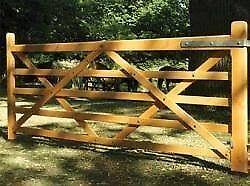 WANTED...12 ft FARM GATE...FIELD GATE...PICKET...5-BAR GATE.....PAIR ?