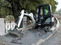 Bobcat 324 Excavator for rent/lease.
