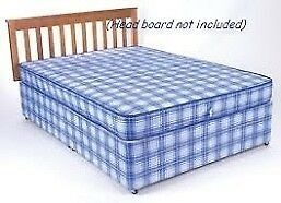 ****BRAND NEW FACTORY WRAPPED******Oriel Double Budget Bed Base & Mattress**/HEADBOARD NOT INCLUDED*