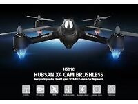 Hubsan x4 h501c brushless motor! drone quadcopter 1080p HD camera GPS altitude hold one key retur