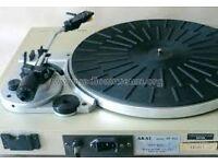 Akai AP-B21 Semi-Automatic Turntable, J-Type ToneArm, Audio-Technica AT95E Cartridge