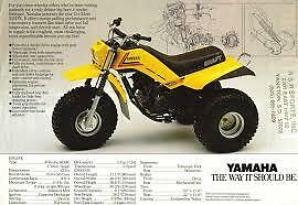 LOOKING FOR A YAMAHA DX 225 PARTS TRIKE