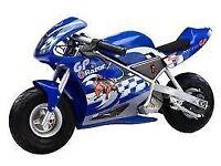 Razor mini Moto electric minibike 4-12yrs used only few times