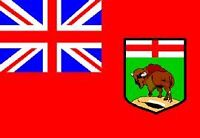 "72"" x 144"" Manitoba Flag 210D Poly"