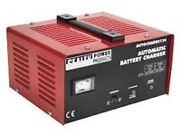 SEALEY Tools 12 & 24V Battery Charger Electronic 18Amp AUTOCHARGE124