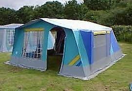 Raclet 6 berth frame tent