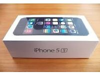 iPhone 5s silver new sealed.
