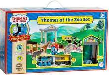 Wooden Thomas the tank engine - RARE - Thomas at the Zoo set -New Rose Bay Eastern Suburbs Preview
